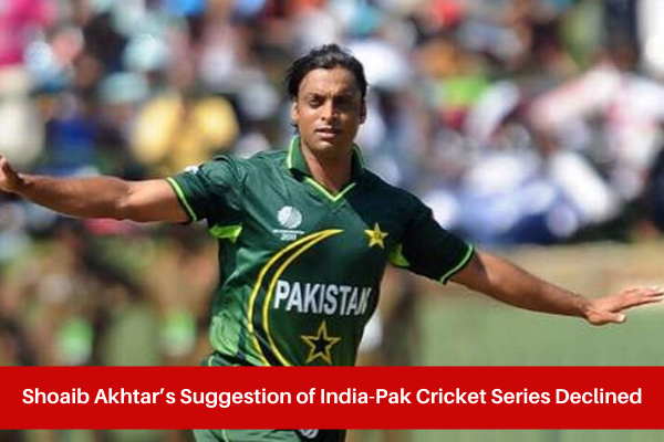 Sreesanth Declines Shoaib Akhtar's Suggestion of India-Pak Cricket Series